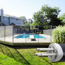 Modern Pool by Guardian Pool Fence Systems