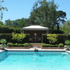 Traditional Pool by Acanthus Design-Denise Woolery