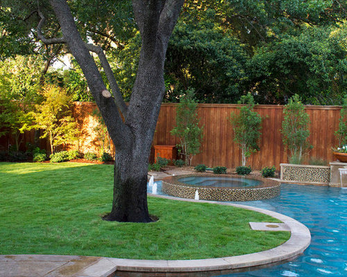 Landscaping along fence home design ideas renovations photos - Landscaping along a fence ...