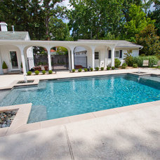 Traditional Pool by FORNEY + architecture, LLC
