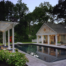 Beach Style Pool by Barnes Vanze Architects, Inc
