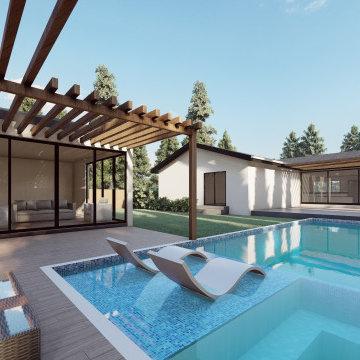 ADU Pool House
