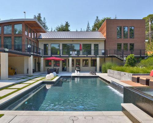 Hillside Modern Home and Pool