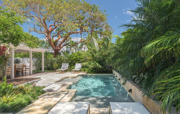 Тропический Бассейн by Craig Reynolds Landscape Architecture