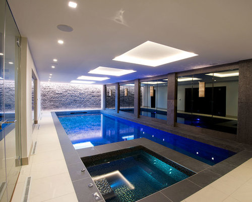 50 Best Indoor Pool House Ideas & Designs | Houzz