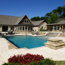 Traditional Pool by The Norwood Group