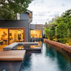 Contemporary Pool by C.O.S Design