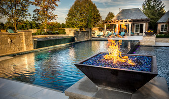 Amazing Pool Renovation with Dramatic Custom Fire Effects
