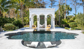 Amazing Roman Geometric Pool & Spa in Parkland