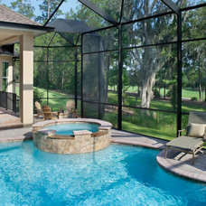 Traditional Pool by Arthur Rutenberg Homes