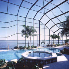 Contemporary Pool by American & International Designs, Inc.