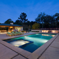 Contemporary Pool by Simpson Design Group Architects