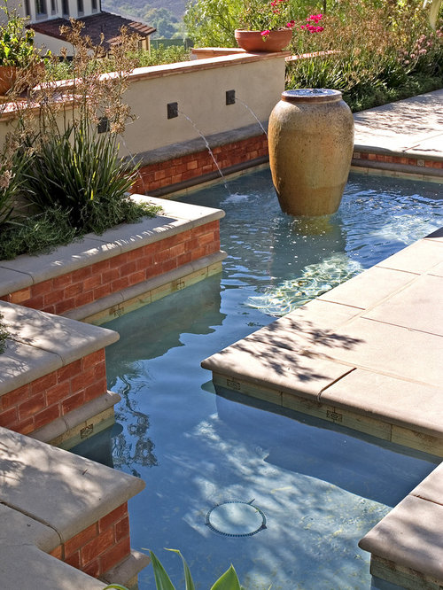 Concrete Water Fountain Home Design Ideas Pictures