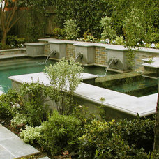 Traditional Pool by AMS Landscape Design Studios, Inc.