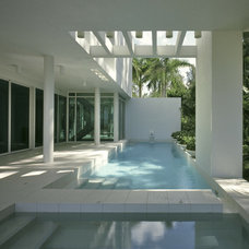 Modern Pool by Guy Peterson Office for Architecture