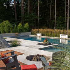 Contemporary Pool by Sudbury Design Group