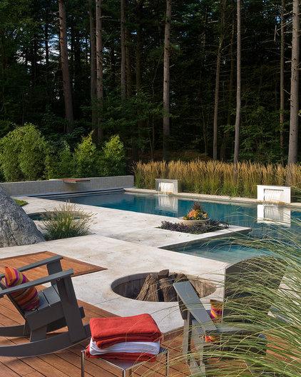 Contemporary Pool by Sudbury Design Group