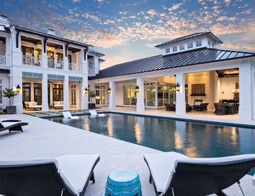 Anglo-Caribbean Estate Home