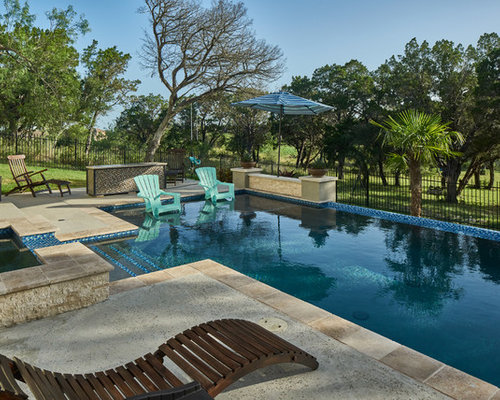 Best transitional pool design ideas remodel pictures houzz for Pool design houzz