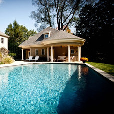 Traditional Pool by Chase Building Group