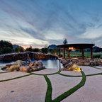 Private Residence Tropical Pool Cincinnati By