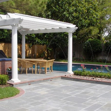 Traditional Pool by Wood Crafters of Texas - Patio Covers