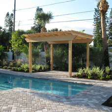 Tropical Pool by Schultz Builders