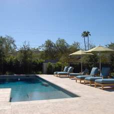 Traditional Pool by Sonoran Landesign