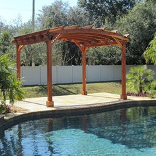 Traditional Pool by Forever Redwood