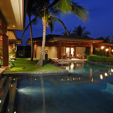 Tropical Pool by Meyers Creative