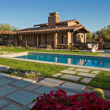 Arizona Ranch by Architect Clint Miller / Interiors Janet Brooks Design