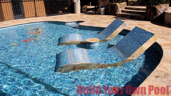 Arizona Swimming Pool and Grotto Designed by Build Your Own Pool