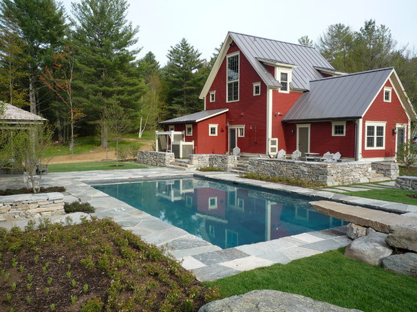 Traditional Pool by Vermont Vernacular Designs