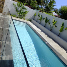Contemporary Pool by SolScapes