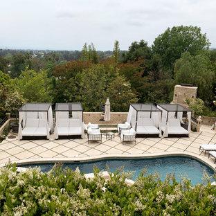 Foto di una piscina stile shabby