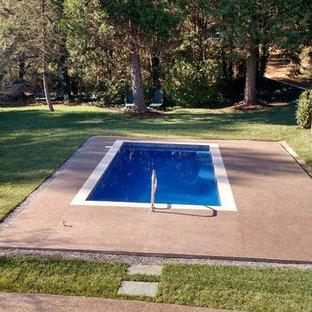 Asheville, NC Custom Fiberglass Pool