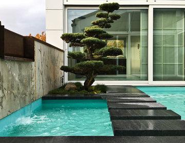Asia Penthouse - Draussen zu Hause - Wasserspiele