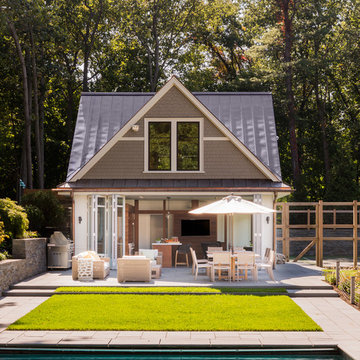 At-Home Getaway Poolhouse