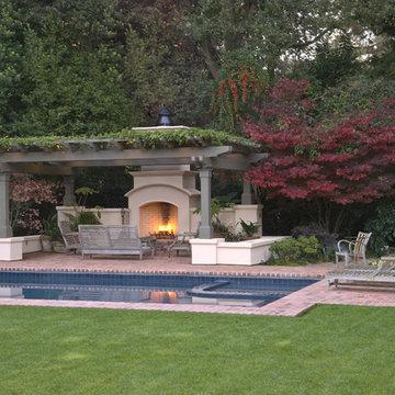 Atherton Residence Pool and Patio