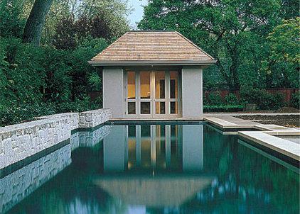 Contemporary Pool by Sutton Suzuki Architects