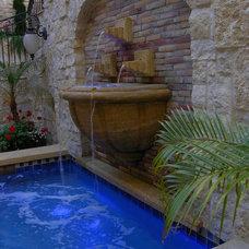 Mediterranean Pool by StringhamDesign