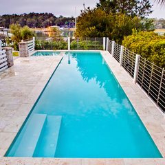 modern pool by Josh Atkinson - Atkinson Aquatech Pools and Spas
