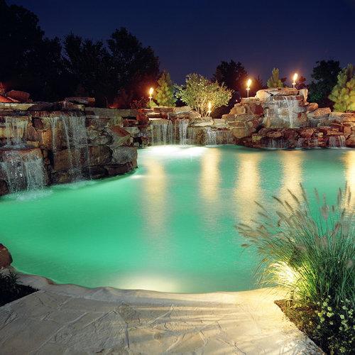 Pool Waterfall Houzz