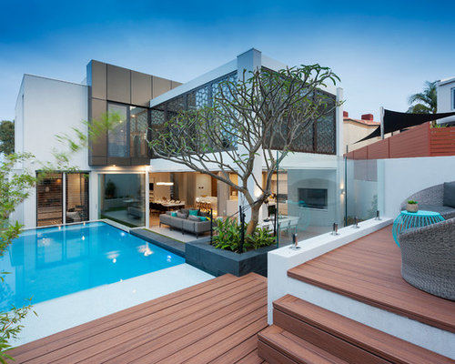 Perth pool design ideas renovations photos for Pool design perth