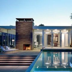 modern pool by Audrey Matlock Architects