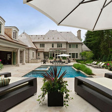 Traditional Pool by Taylor Design Group