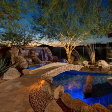 Mediterranean Pool by California Pools & Landscape