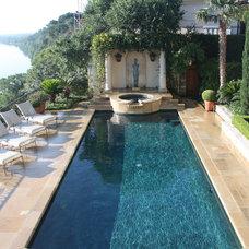 Mediterranean Landscape by McDugald-Steele Landscape Architects