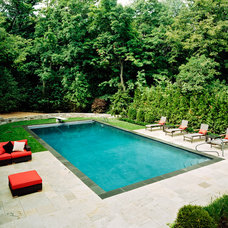 Contemporary Pool by Downes Swimming Pool Company