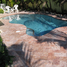 Tropical Pool by Travertine Warehouse